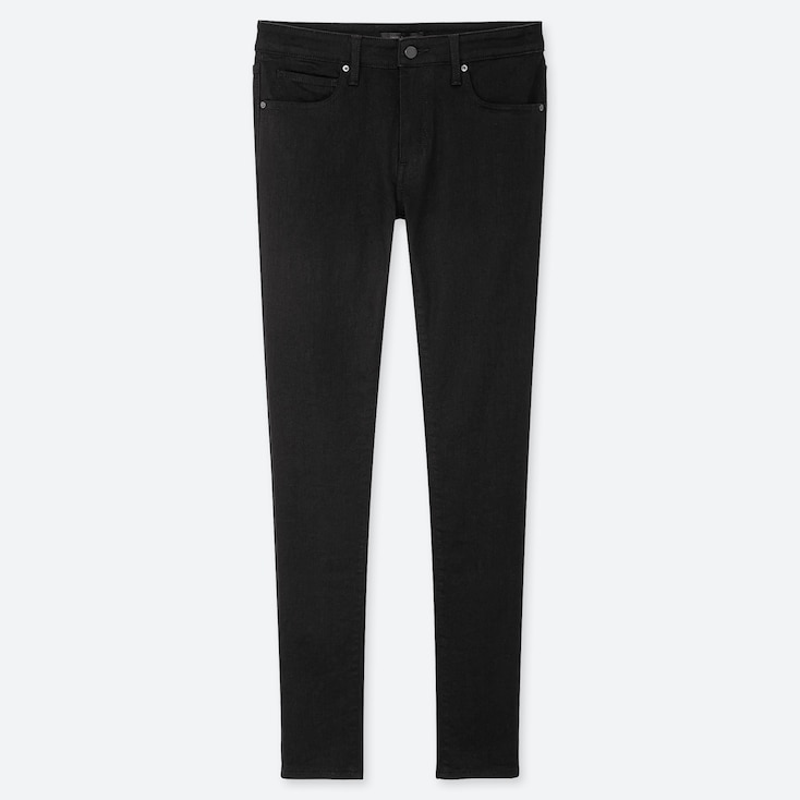 MEN ULTRA STRETCH SKINNY FIT JEANS, BLACK, large