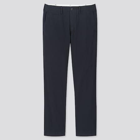 Men Cotton Vintage Regular Fit Chino Trousers