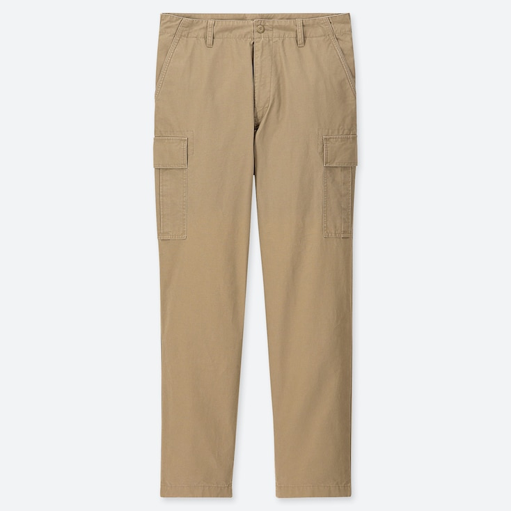 Men Regular Fit Cargo Trousers by Uniqlo