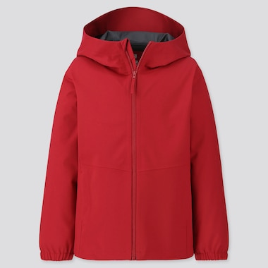 KIDS BLOCKTECH PARKA, RED, medium
