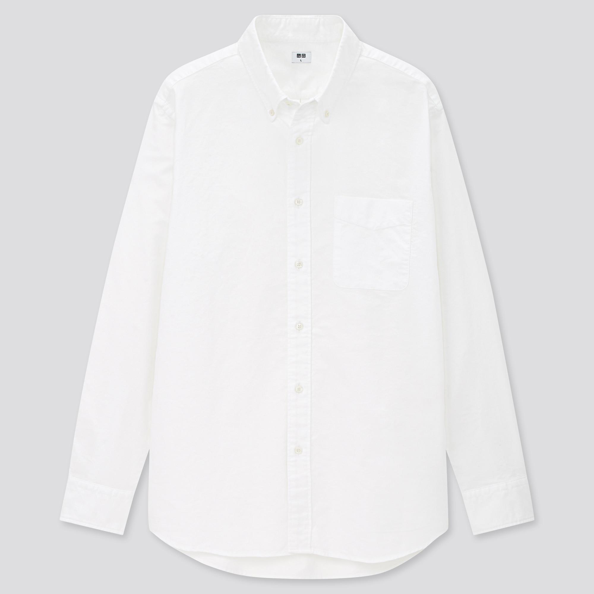 men oxford regular-fit long-sleeve shirt (online exclusive)