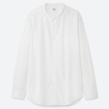 MEN EXTRA FINE COTTON BROADCLOTH LONG-SLEEVE SHIRT (ONLINE EXCLUSIVE), WHITE, medium