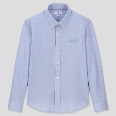 KIDS EASY CARE COMFORT LONG-SLEEVE SHIRT (ONLINE EXCLUSIVE), BLUE, medium