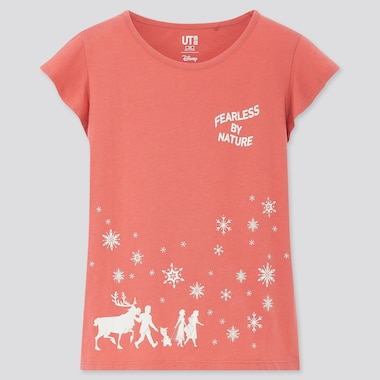 UT DISNEY FROZEN 2 T-SHIRT GRAPHIQUE FILLE