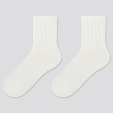 KIDS HEATTECH SOCKS (2 PAIRS), WHITE, medium