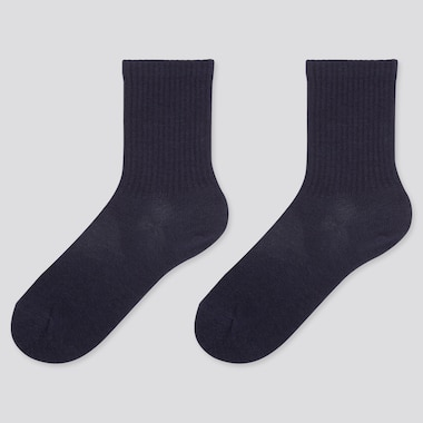 KIDS HEATTECH SOCKS (2 PAIRS), NAVY, medium