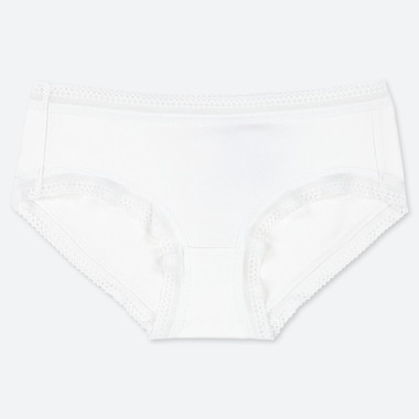 Women Hiphugger, White, Medium