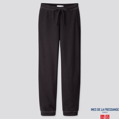 WOMEN SWEATPANTS  (INES DE LA FRESSANGE), BLACK, medium