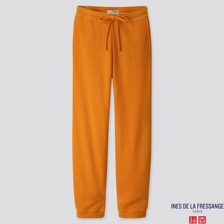 WOMEN SWEATPANTS  (INES DE LA FRESSANGE), ORANGE, large