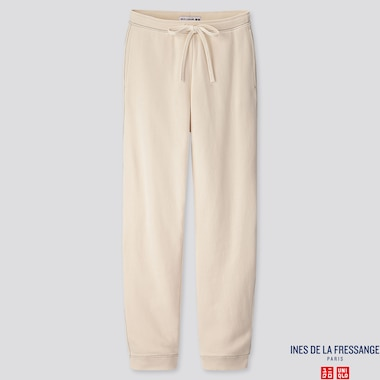 WOMEN SWEATPANTS  (INES DE LA FRESSANGE), NATURAL, medium