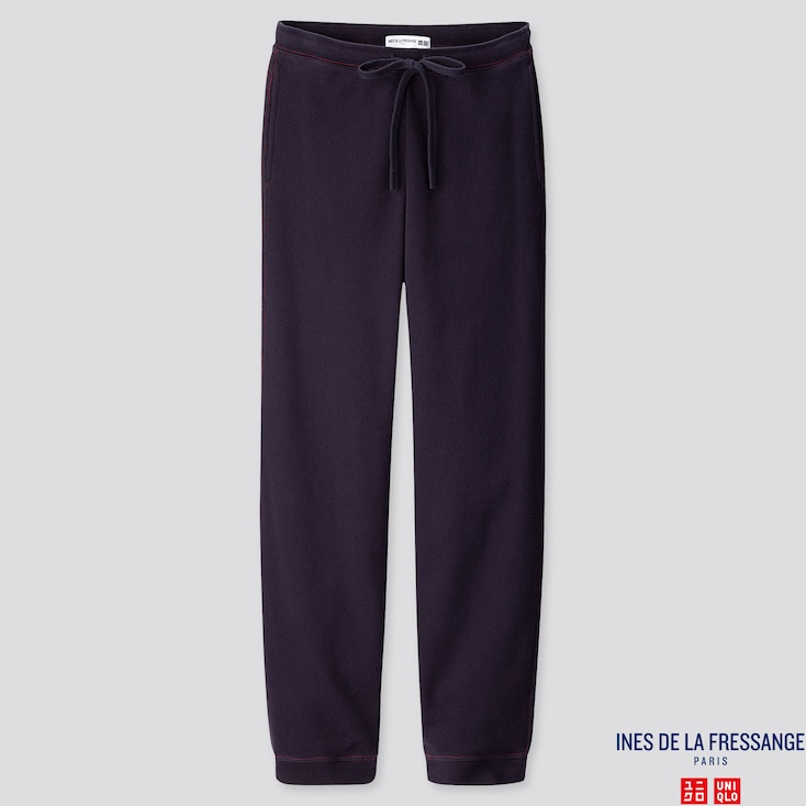 WOMEN SWEATPANTS  (INES DE LA FRESSANGE), NAVY, large