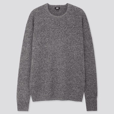 MEN PREMIUM LAMBSWOOL CREW NECK JUMPER