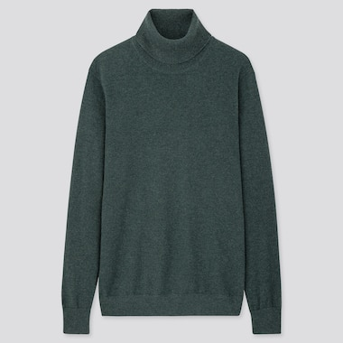 MEN CASHMERE TURTLENECK JUMPER