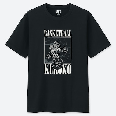 MANGA UT KUROKO (SHORT-SLEEVE GRAPHIC T-SHIRT), BLACK, medium