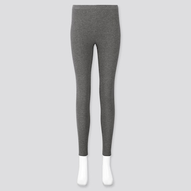 Women Waffle Leggings, Dark Gray, Medium