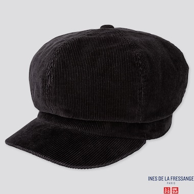 WOMEN CASQUETTE (INES DE LA FRESSANGE), BLACK, medium