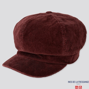 WOMEN CASQUETTE (INES DE LA FRESSANGE), WINE, medium