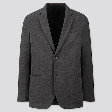 MEN COMFORT JACKET, DARK GRAY, medium