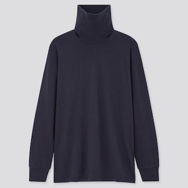 Men Soft Touch Turtleneck Long Sleeved T-Shirt