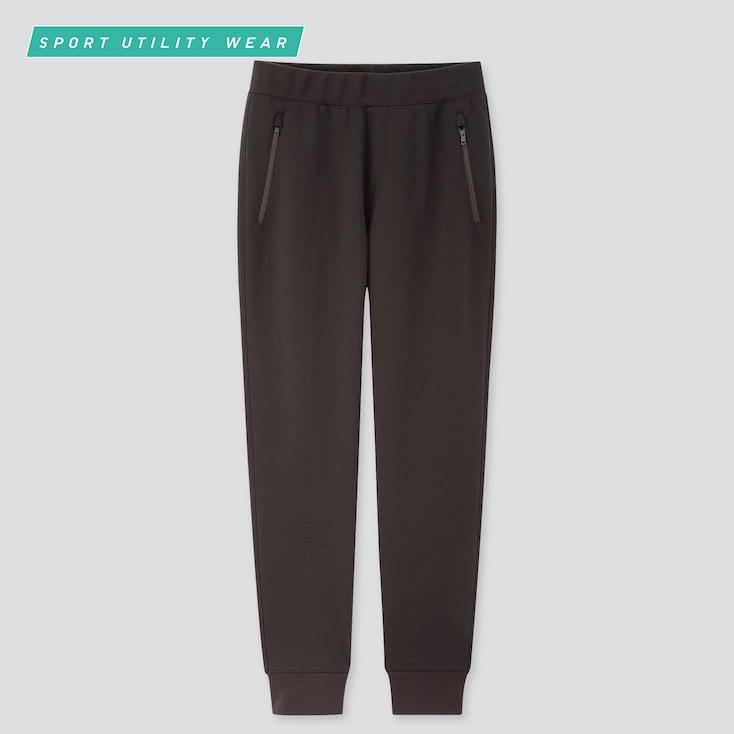 Men Dry Stretch Sweatpants,                             Black, Large