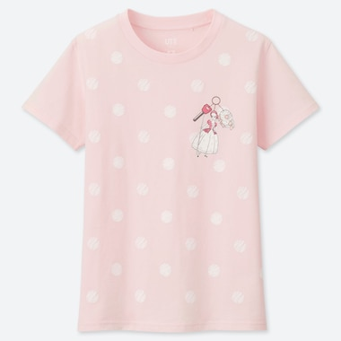 WOMEN PIXAR VACATION UT (SHORT-SLEEVE GRAPHIC T-SHIRT), PINK, medium