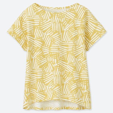 WOMEN SCANDINAVIAN PATTERN UT GRAPHIC T-SHIRT