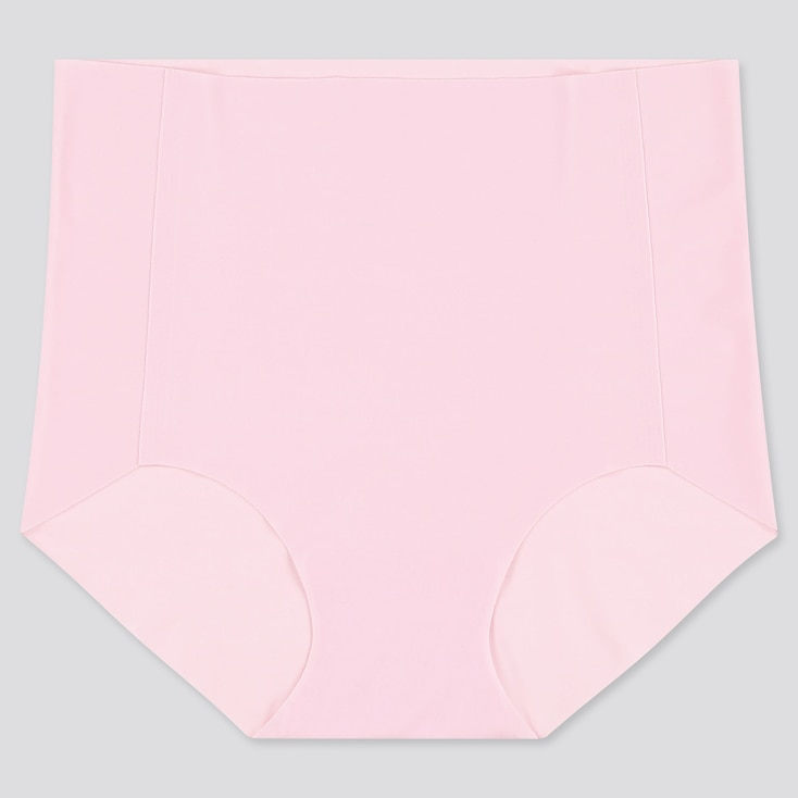 WOMEN AIRism ULTRA SEAMLESS HIGH-RISE BRIEF, PINK, large