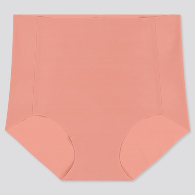 WOMEN AIRism ULTRA SEAMLESS HIGH-RISE BRIEF, PINK, medium