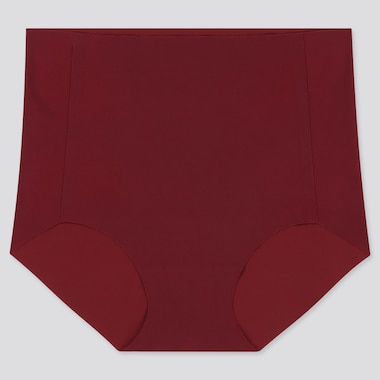 WOMEN AIRism ULTRA SEAMLESS HIGH-RISE BRIEF, RED, medium