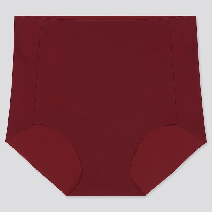 WOMEN AIRism ULTRA SEAMLESS HIGH-RISE BRIEF, RED, large