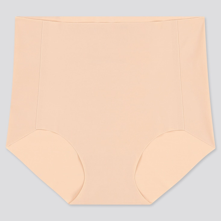 WOMEN AIRism ULTRA SEAMLESS HIGH-RISE BRIEF, BEIGE, large