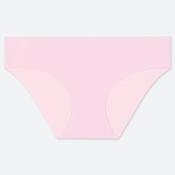 Women Airism Ultra Seamless Bikini, Pink, Large