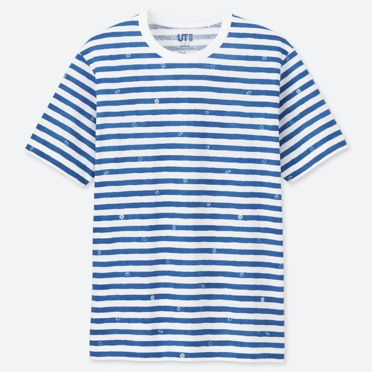 HERREN UT BEDRUCKTES T-SHIRT MICKEY BLUE