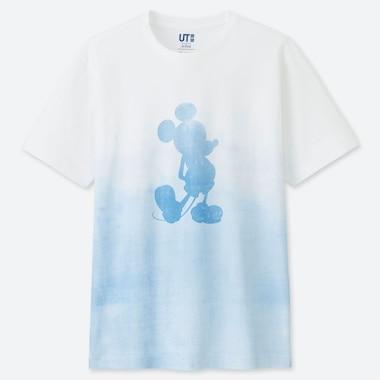 MICKEY BLUE UT (SHORT-SLEEVE GRAPHIC T-SHIRT), WHITE, medium
