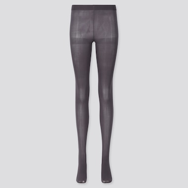WOMEN HEATTECH TIGHTS, DARK GRAY, medium