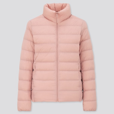 WOMEN ULTRA LIGHT DOWN JACKET, PINK, medium
