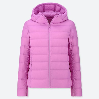 WOMEN ULTRA LIGHT DOWN PARKA, PINK, medium