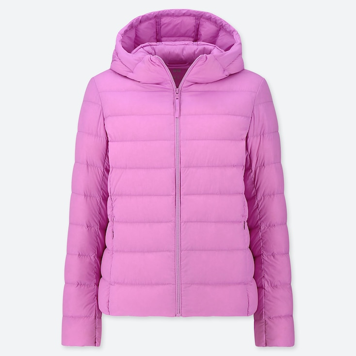 WOMEN ULTRA LIGHT DOWN PARKA, PINK, large