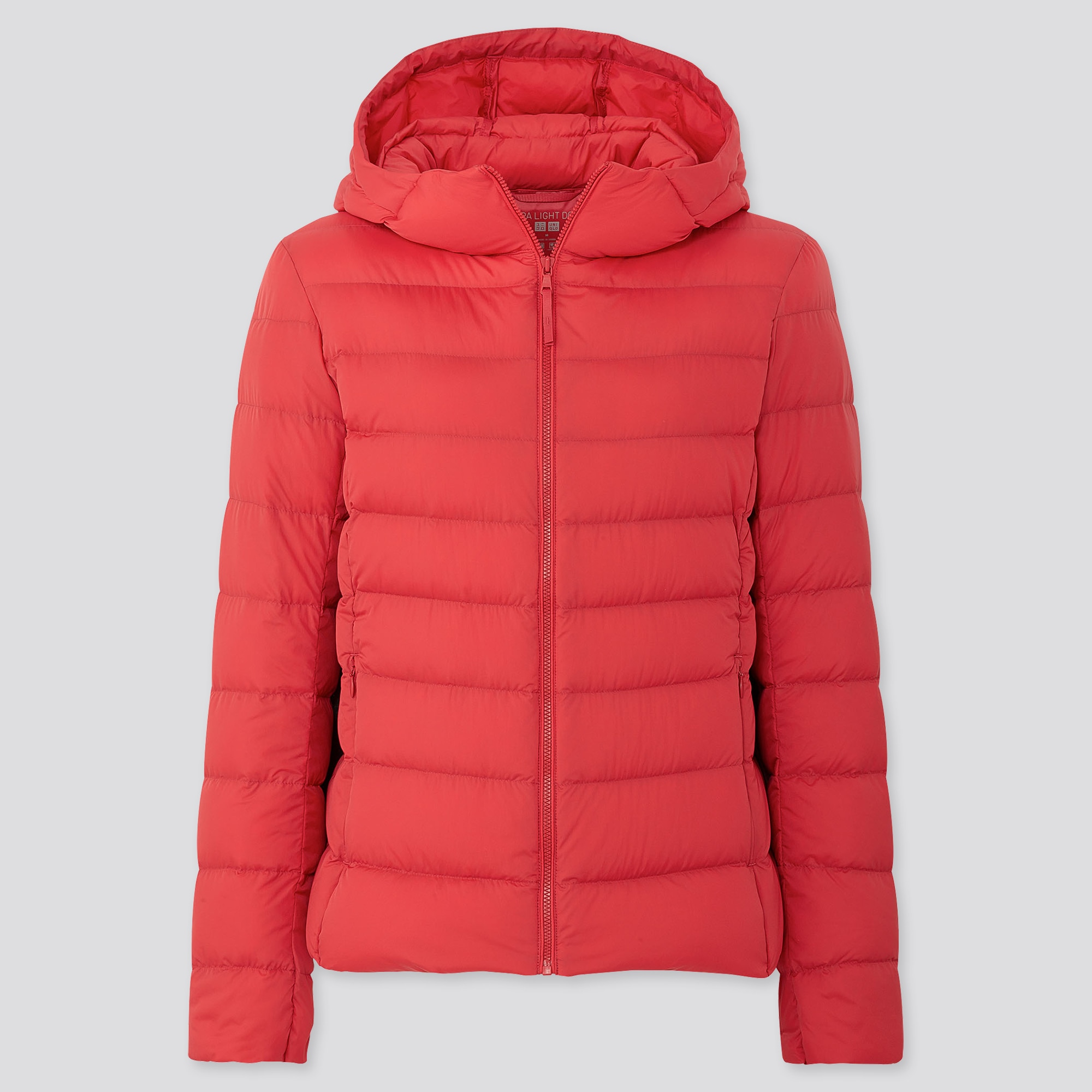 Red Down Parka Women'S