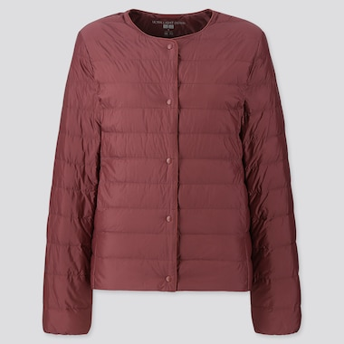 WOMEN ULTRA LIGHT DOWN COMPACT JACKET, WINE, medium