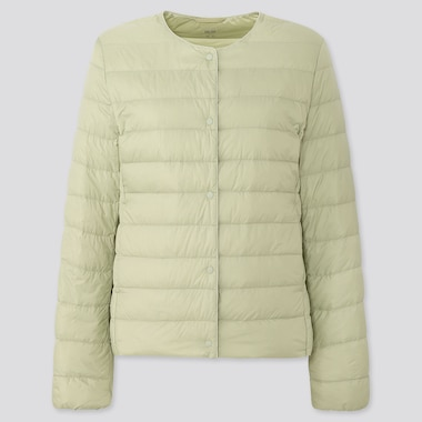 Women Ultra Light Down Compact Jacket, Light Green, Medium
