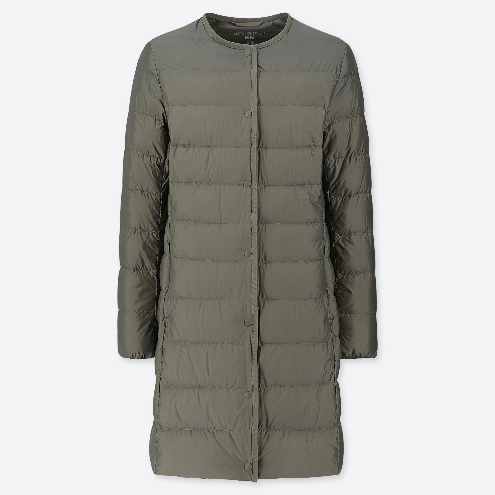חדש! מעיל נשים Uniqlo ארוך כפתורים