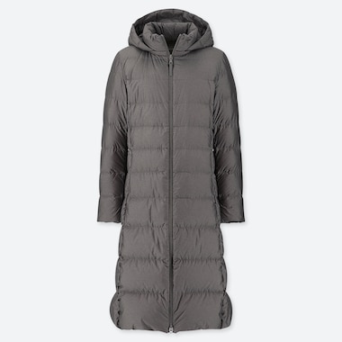 WOMEN ULTRA LIGHT DOWN LONG COAT