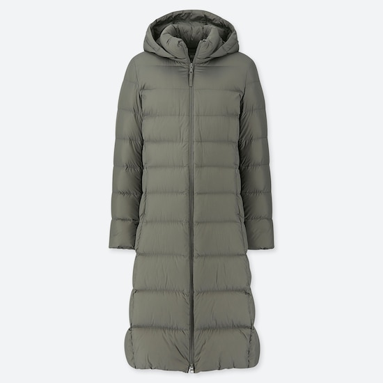 Women Ultra Light Down Long Coat  (14) by Uniqlo