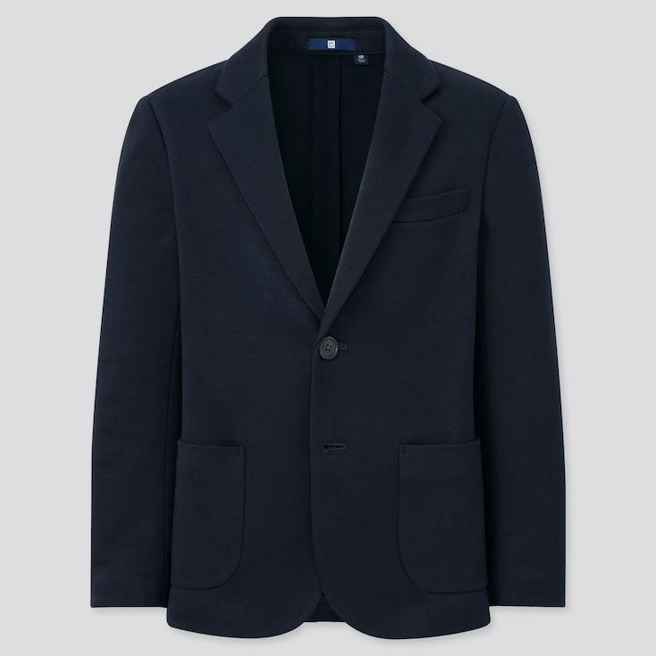 Kids Comfort Jacket (Online Exclusive), Navy, Large