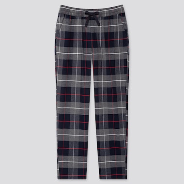 MEN FLANNEL EASY TROUSERS