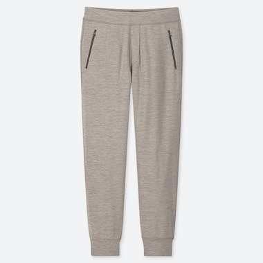 MEN STRETCH FLEECE PANTS, GRAY, medium