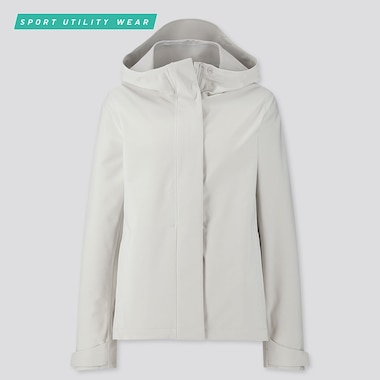 WOMEN BLOCKTECH HOODED PARKA