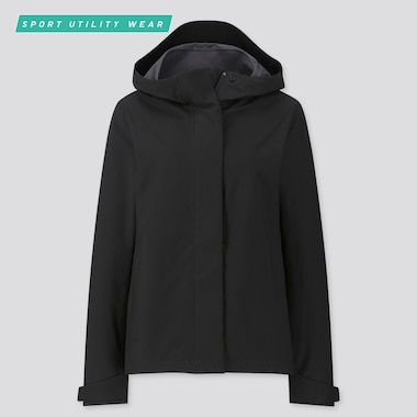Women Blocktech Parka, Black, Medium