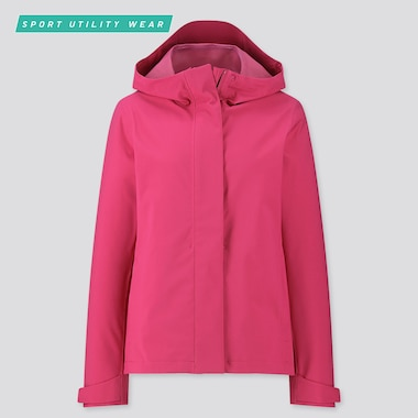 Women Blocktech Parka, Pink, Medium